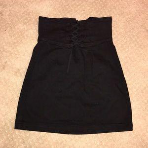 Never been worn express high waisted corset skirt
